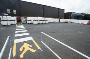 Safety Marking, Warehouse Marking, Pedestrian Crossing